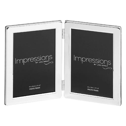<span style='color: #000000;'>Juliana Impressions Silverplated 4