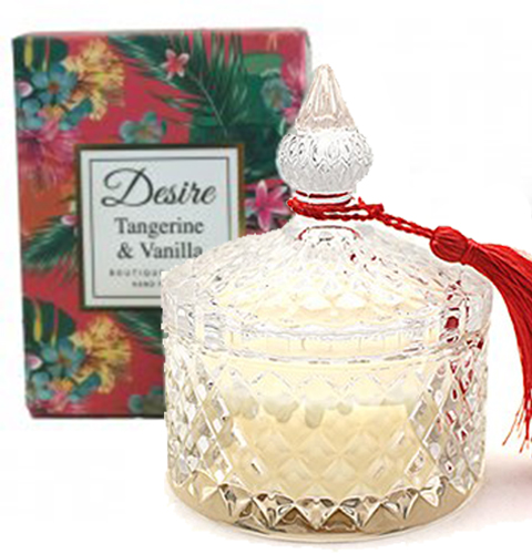 <span style='color: #000000;'>Desire Tropical Candle Jar - Lotus Blossom</span>