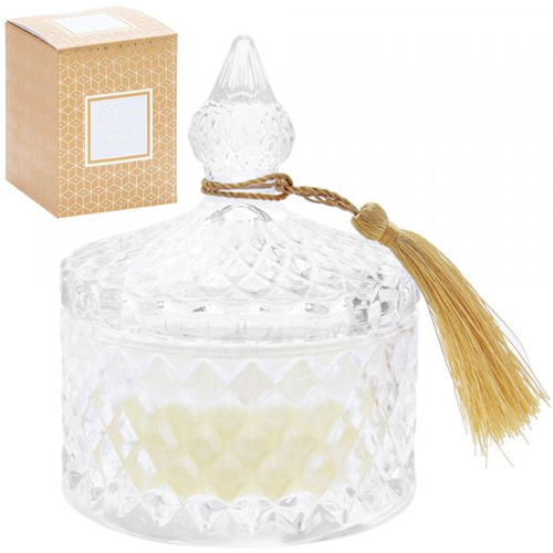<span style='color: #000000;'>Desire Luxury Ridge Candle Jar - Salted Caramel</span>