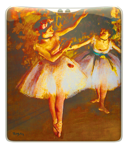 Degas - Two Dancers on Stage Handbag Torch