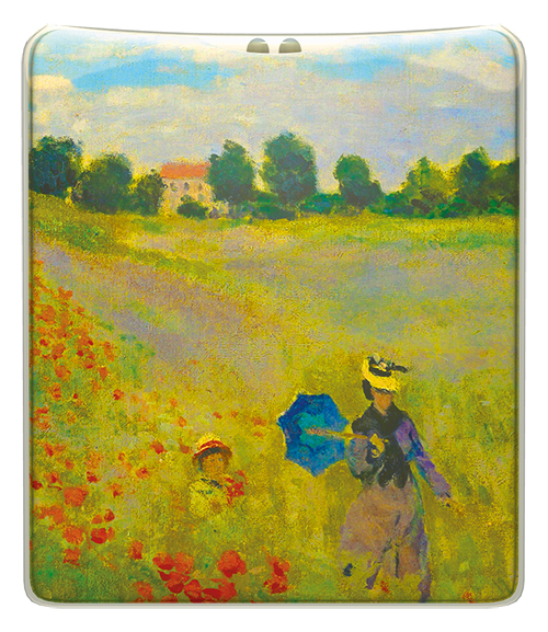 Monet - Poppy Field Handbag Torch